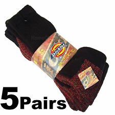 5 Pairs Dickies Work / Hiking Socks Size 6-11 Working Socks Boots New