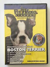 BOSTON TERRIER DVD: Everything You Should Know + Dog & Puppy Training Bonus NEW