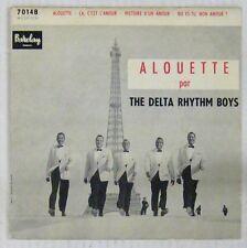 Tour Eiffell 45 tours The Delta Rythm Boys Barclay