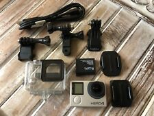 GoPro HERO4 Camcorder CHDHX-401 Black+16GB Card+Some Extra New Mounts