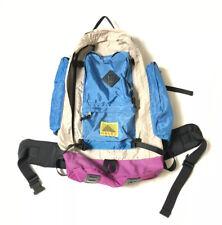 Vintage Kelty Redwing Backpack  Blue Tan Purple