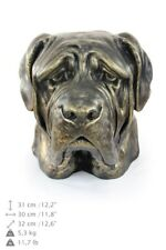 English Mastiff - dog head resin figurine, high quality, Art Dog