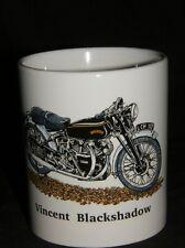 Vincent BlackShadow Tazza in gres MOTO regalo, vintage moto