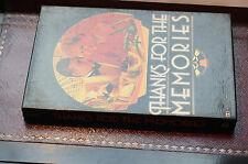 Rara Vintage gracias por los recuerdos Conjunto de 4 casetes folleto de menta en caja con