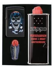 Zippo® Chipskull -  Poker Game Karten Spiel Gift Set/ Geschenkset Neu/ New Ovp