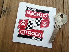 CITROEN sport 50mm classic car autocollants autocollant