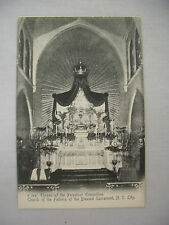 Vintage Postcard Throne Of The Perpetual Exposition New York City Unused Udb