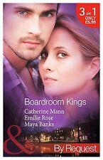 Banks, Maya, Rose, Emilie, Mann, Catherine Boardroom Kings: Bossman's Baby Scand