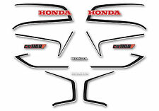 1983 Honda CB1100F Decal Set-  Red & White USA Model
