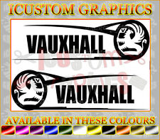large vauxhall side graphic corsa astra opel logo car vinyl sticker rally stock