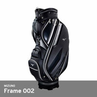 Mizuno 2019 Frame 002 Men Golf Club Bag 9.5In 9lb 42x90X27cm PVC Enamel / Black