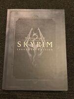 The Elder Scrolls V Skyrim Legendary Edition Lösungsbuch Guide neuwertig