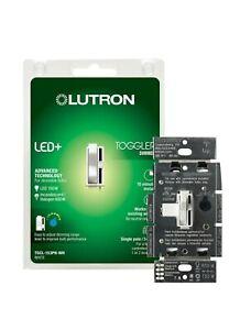 Lutron Toggler LED+ Dimmer Switch   150-Watt Single-Pole/3-Way   TGCL-153