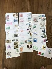 Worldwide Stamps Covers abot 40 Catchet 242 0519