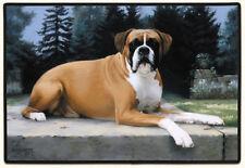NEW Boxer Dog Non-Slip Rubber Backed Doormat Door Mat
