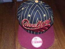New Era Cleveland Cavilers hat Hardwood Classic lebron Pinstripe snapback 9fifty