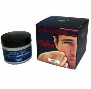 Crema Viso Anti Rughe Uomo Face Complex Con Acido Ialuronico e Vitamina A