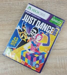 🔥NEW & SEALED🔥 Just Dance 2016 ~ Xbox 360(PAL)Kinect ~ Free Postage