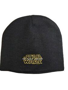 Star Wars Beanie Hat Cap Black