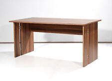 Büro Büromöbel Schreibtisch 160 x 80 x 75 Arbeitsplatz Walnuss Holz NEU