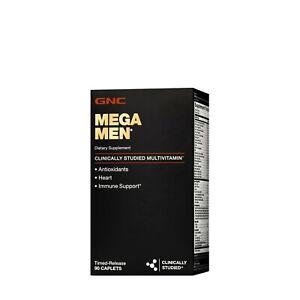 GNC Mega Men Clinically Studied Multivitamin, 90 Timed-Release Caplets