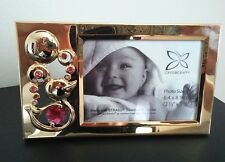 Keepsake Baby Girl Frame Pink Swarovski Crystals Birth Shower Christening Gifts