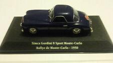 SIMCA GORDINI 8 Sport Monté-Carlo ( Editions ATLAS: Saga Gordini) 1/43