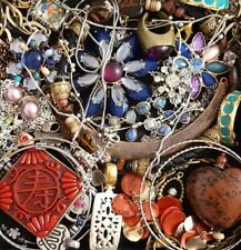Vintage Now Unsearched Untested Junk Drawer Jewelry Lot Estate All Wear L975