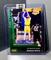 Anthony Davis 2020 Panini LA Lakers NBA Champions #24 Green Parallel Card 10/10