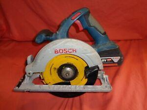 Bosch GKS 18 V-LI Cordless Circular Saw + 5AH Battery