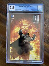 DARK KNIGHT III: THE MASTER RACE (DK3) #1 CGC 9.8 / M&M Comics Edition