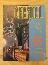 Grendel Devil by the Deed by Matthew Wagner 1988 Comico Paperback Alan Moore