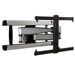 Sanus VLF728 S2 Large Full Motion TV Wall Mount Bracket - Brushed Steel