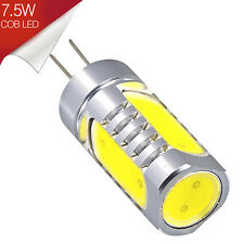 Bombilla LED G4 LED COB 7.5W Blanco Cálido 12V - Consumo 7.5W Alta Luminosidad