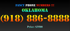 New listing Fancy Phone Numbers ! Oklahoma (918) 886-8888