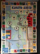 EUROPA UNITA  - gioco dell'oca di percorso - GIRO D'EUROPA