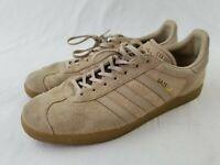 RARE🔥 Adidas Gazelle Men's Shoes tan Suede Sz 13 Men's Sneakers