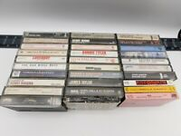 Lot of 30 Cassettes Rock Pop Classic Metal Soul R&B