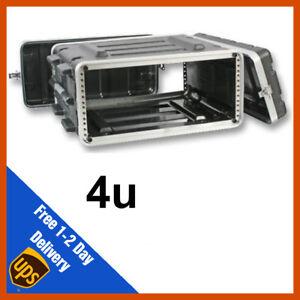 ABS Rack Case   4u   Flight Case   Equipment Case   DJ Case   Amp Case   PA