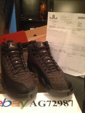 Air Jordan Retro 12 Wool Size 10.5 with Receipt Deadstock 100% Authentic