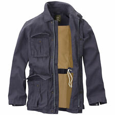 NWT 4802J MEN TIMBERLAND ABINGTON NAVY BLUE RUGGED MILITARY JACKET SZ L $168