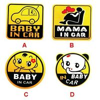 BABY ON BOARD Vinyl Decal Car Window Bumper Sticker Child Safety Sign New