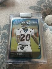 2006 Bowman Chrome Uncirculated Rookies Football Card #232 Mike Bell /519