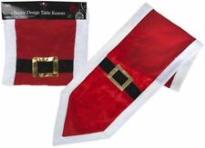 35 X 180cm Xmas Santa Claus Buckle Christmas Dinner Table Runner Decoration