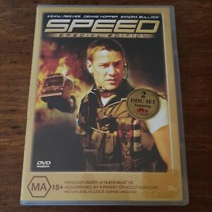 Speed Special Edition DVD R4 Like New! FREE POST