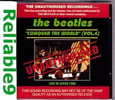 Beatles - Conquer the world Vol4 Live in Japan 1966 CD Unauthorised 23tracks AUS