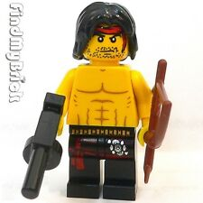 M828A Lego Custom Rambo Minifigure with Arrow Bow & Automatic Gun NEW