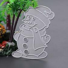 Snowman Cutting Dies Stencils DIY Scrapbooking Embossing Album Paper Card Craft