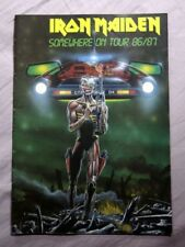 Iron Maiden Memorabilia Programmes