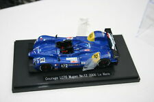 1/43 COURAGE COMPETITION LC70 MUGEN LE MANS 2006 #12 HANCOCK FREI FISKEN EBBRO